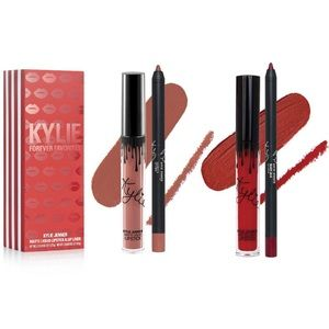 Kylie Cosmetics Holiday Forever Favs Lip Kit Duo